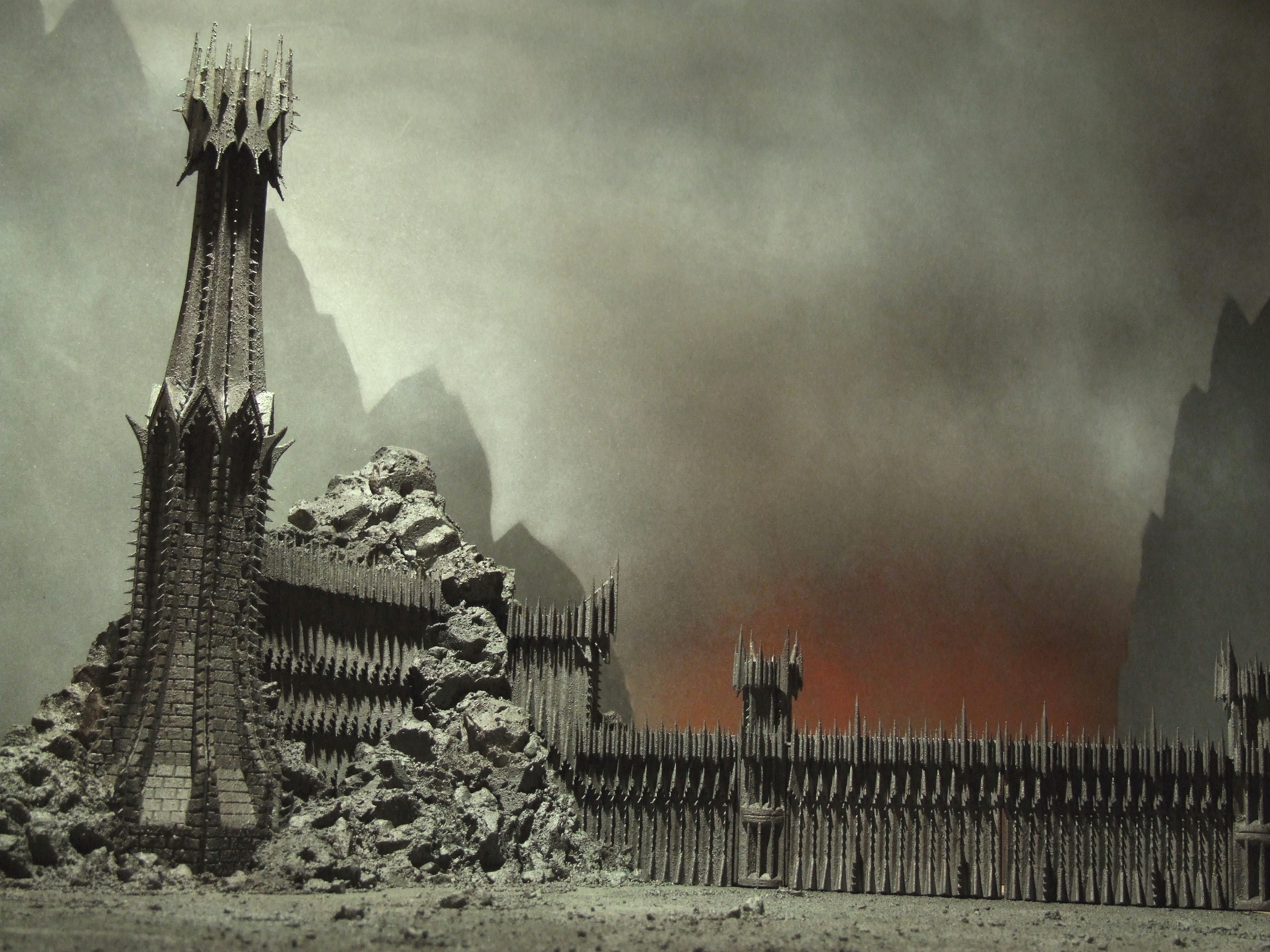 Lord Of The Rings Scenery Builder